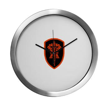 OSU - M01 - 03 - SSI - ROTC - Oregon State University - Modern Wall Clock