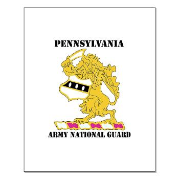PENNSYLVANIAARNG - M01 - 02 - DUI - Pennsylvania Army National Guard with text - Small Poster