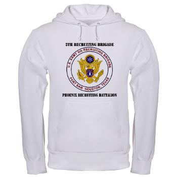 PHRB - A01 - 03 - DUI - Phoenix Recruiting Bn with Text - Hooded Sweatshirt