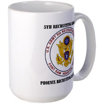 PHRB - M01 - 03 - DUI - Phoenix Recruiting Bn with Text - Large Mug