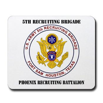PHRB - M01 - 03 - DUI - Phoenix Recruiting Bn with Text - Mousepad