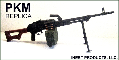 De-milled Soviet PKM - General Purpose Machine Gun