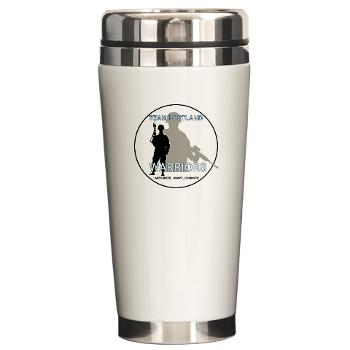 PRB - M01 - 04 - DUI - Portland Recruiting Battalion - Ceramic Travel Mug