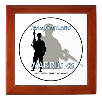 PRB - M01 - 04 - DUI - Portland Recruiting Battalion - Keepsake Box