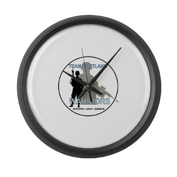 PRB - M01 - 04 - DUI - Portland Recruiting Battalion - Large Wall Clock