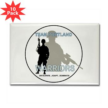 PRB - M01 - 01 - DUI - Portland Recruiting Battalion - Rectangle Magnet (10 pack)