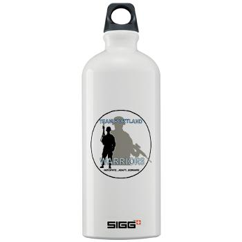 PRB - M01 - 04 - DUI - Portland Recruiting Battalion - Sigg Water Bottle 1.0L