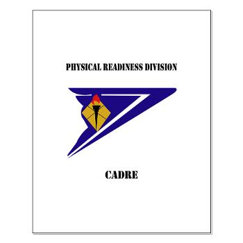 PRDC - M01 - 02 - DUI - Physical Readiness Division Cadre with Text - Small Poster