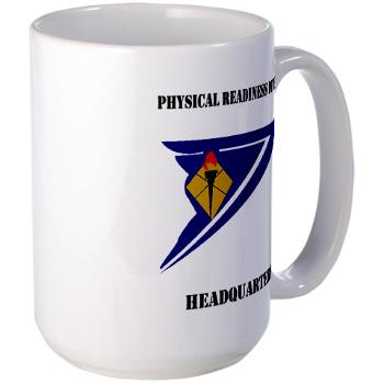 PRDH - M01 - 03 - DUI - Physical Readiness Division Headquarters with Text - Large Mug