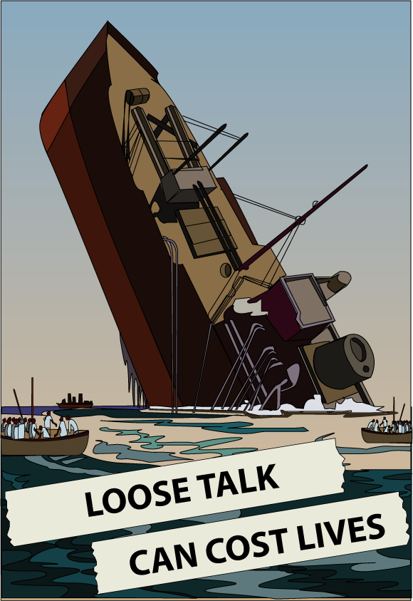 Poster - Loose Talk