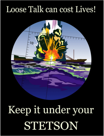 Poster - Keep It Under Your Stetson