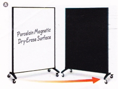 Motion Marker & Bulletin Room Divider