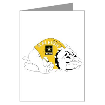 RRB - M01 - 02 - DUI - Raleigh Recruiting Battalion - Greeting Cards (Pk of 20)