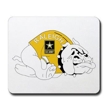 RRB - M01 - 03 - DUI - Raleigh Recruiting Battalion - Mousepad