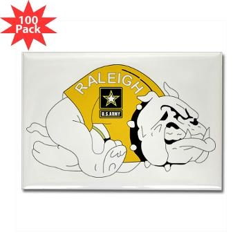 RRB - M01 - 01 - DUI - Raleigh Recruiting Battalion - Rectangle Magnet (100 pack)