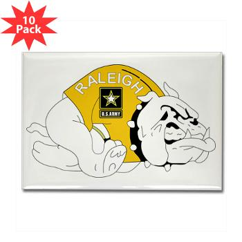 RRB - M01 - 01 - DUI - Raleigh Recruiting Battalion - Rectangle Magnet (10 pack)