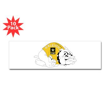 RRB - M01 - 01 - DUI - Raleigh Recruiting Battalion - Sticker (Bumper 10 pk)