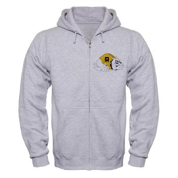 RRB - A01 - 03 - DUI - Raleigh Recruiting Battalion - Zip Hoodie