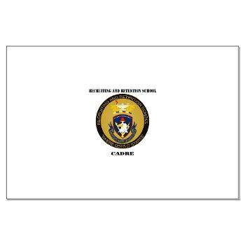 RRSC - M01 - 02 - DUI - Recruiting and Retention School Cadre with Text Large Poster