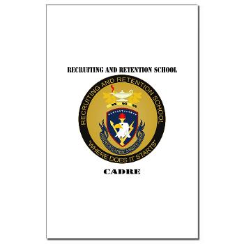 RRSC - M01 - 02 - DUI - Recruiting and Retention School Cadre with Text Mini Poster Print