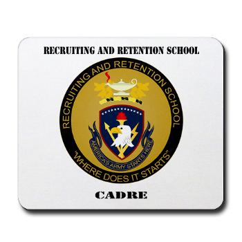 RRSC - M01 - 03 - DUI - Recruiting and Retention School Cadre with Text Mousepad
