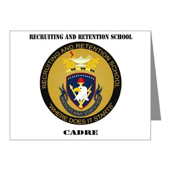 RRSC - M01 - 02 - DUI - Recruiting and Retention School Cadre with Text Note Cards (Pk of 20)