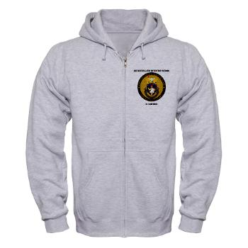 RRSC - A01 - 03 - DUI - Recruiting and Retention School Cadre with Text Zip Hoodie
