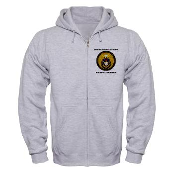 RRSH - A01 - 03 - DUI - Recruiting and Retention School HQ with Text Zip Hoodie