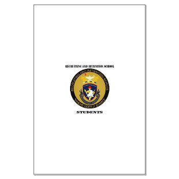 RRSS - M01 - 02 - DUI - Recruiting and Retention School Students with Text Large Poster