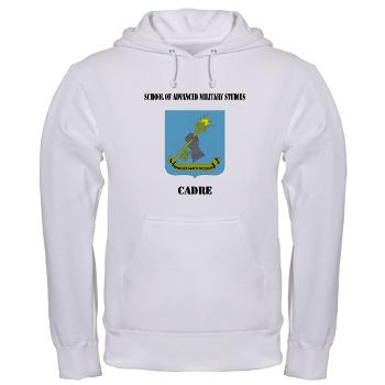 SAMSC - A01 - 03 - DUI - School of Advanced Military Studies - Cadre with Text - Hooded Sweatshirt