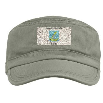 SAMSC - A01 - 01 - DUI - School of Advanced Military Studies - Cadre with Text - Military Cap