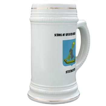 SAMSS - M01 - 03 - DUI - School of Advanced Military Studies - Students with Text - Ceramic Travel Mug
