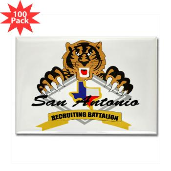 SARB - M01 - 01 - DUI - San Antonio Recruiting Bn - Rectangle Magnet (100 pack)