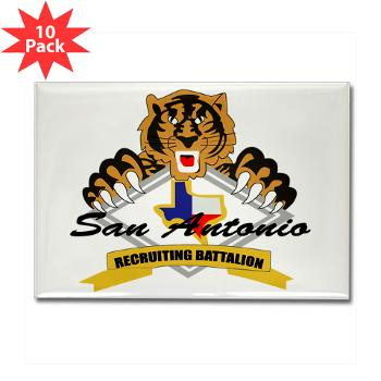 SARB - M01 - 01 - DUI - San Antonio Recruiting Bn - Rectangle Magnet (10 pack)