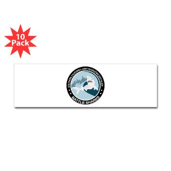 SCRB - M01 - 01 - DUI - Southern California Recruiting Bn Sticker (Bumper 10 pk)