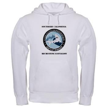 SCRB - A01 - 03 - DUI - Southern California Recruiting Bn with Text Hooded Sweatshirt