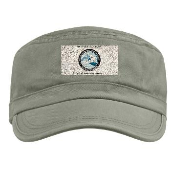 SCRB - A01 - 01 - DUI - Southern California Recruiting Bn with Text Military Cap