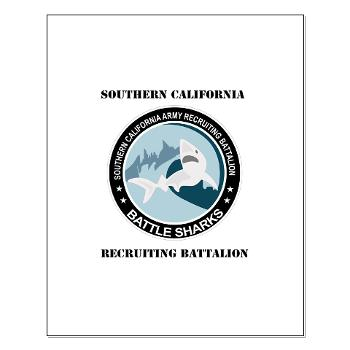 SCRB - M01 - 02 - DUI - Southern California Recruiting Bn with Text Small Poster