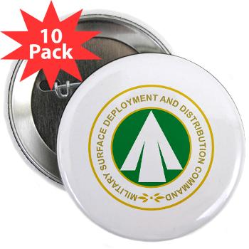 "SDDC - M01 - 01 - Military Surface Deployment and Distribution Command - 2.25"" Button (10 pack)"