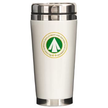 SDDC - M01 - 03 - Military Surface Deployment and Distribution Command - Ceramic Travel Mug