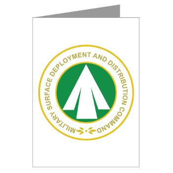 SDDC - M01 - 02 - Military Surface Deployment and Distribution Command - Greeting Cards (Pk of 10)