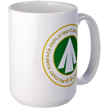 SDDC - M01 - 03 - Military Surface Deployment and Distribution Command - Large Mug