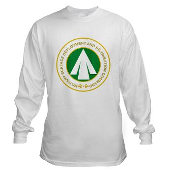 SDDC - A01 - 03 - Military Surface Deployment and Distribution Command - Long Sleeve T-Shirt