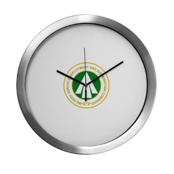 SDDC - M01 - 03 - Military Surface Deployment and Distribution Command - Modern Wall Clock