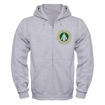 SDDC - A01 - 03 - Military Surface Deployment and Distribution Command - Zip Hoodie