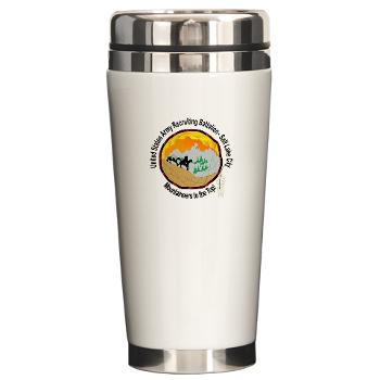 SLCRB - M01 - 03 - DUI - Salt Lake City Recruiting Battalion Ceramic Travel Mug