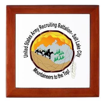 SLCRB - M01 - 03 - DUI - Salt Lake City Recruiting Battalion Keepsake Box