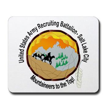 SLCRB - M01 - 03 - DUI - Salt Lake City Recruiting Battalion Mousepad