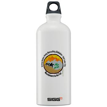SLCRB - M01 - 03 - DUI - Salt Lake City Recruiting Battalion Sigg Water Bottle 1.0L
