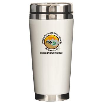 SLCRB - M01 - 03 - DUI - Salt Lake City Recruiting Battalion with Text Ceramic Travel Mug